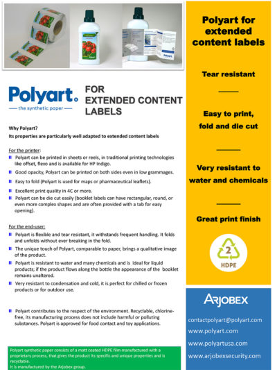 Polyart - for extend content labels