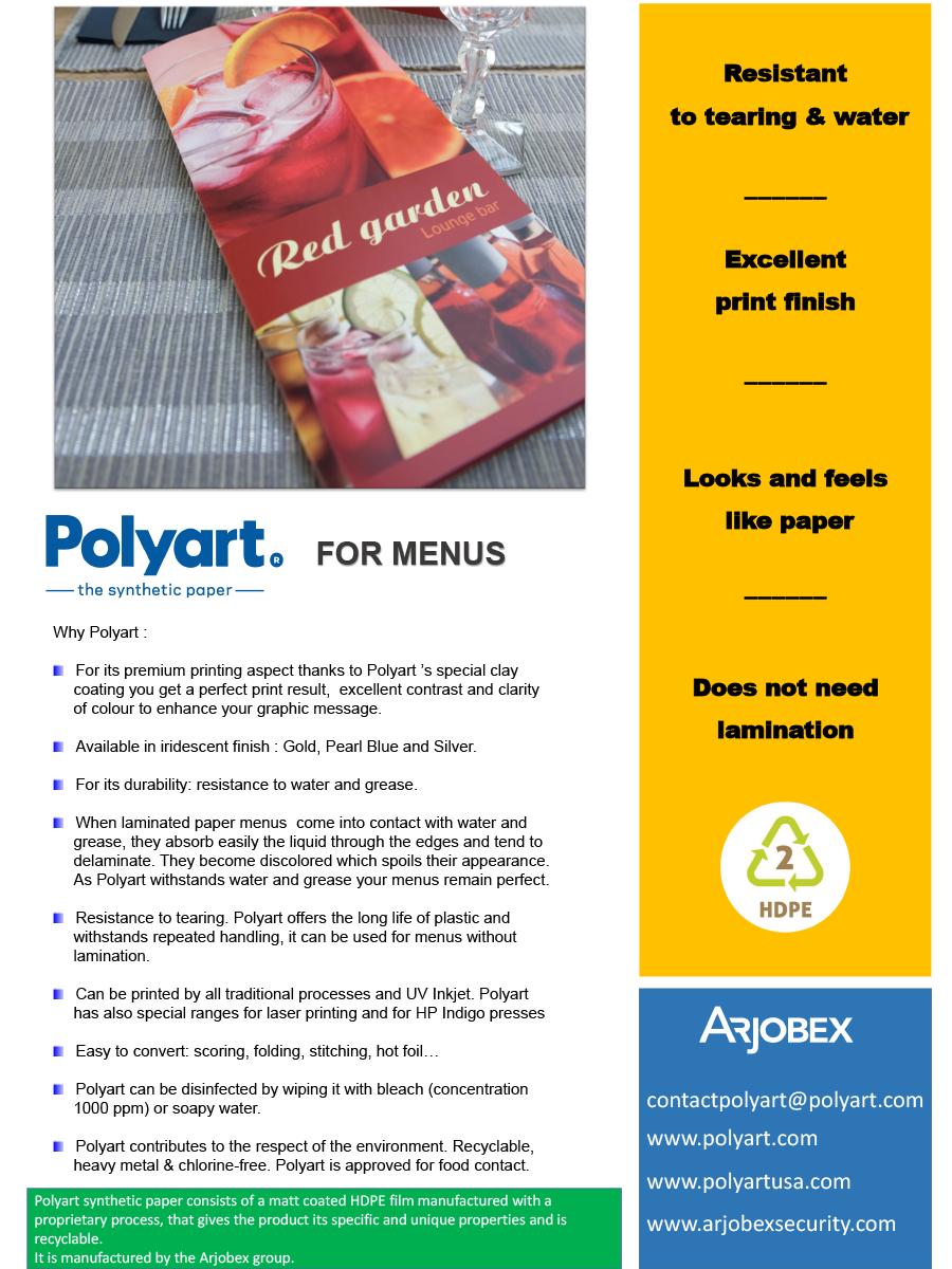 Case Storie Polyart for menus