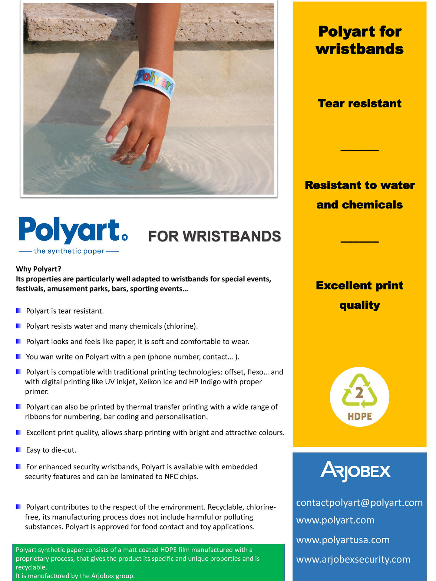 Polyart - for wristbands