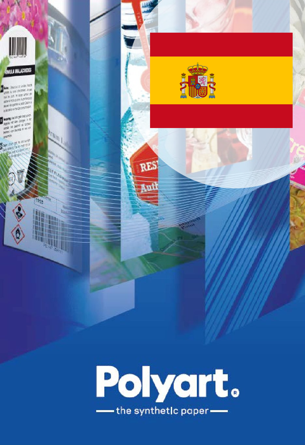 Polyart - brochure label spain
