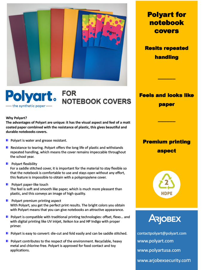 Case Stories Polyart for notebook covers