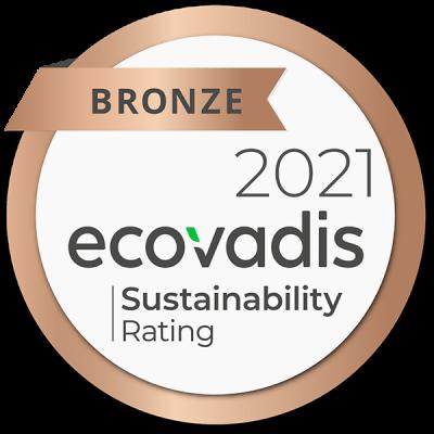Arjobex - Substainability - Ecovadis 2021